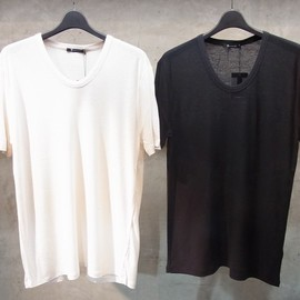 T by Alexander Wang - Pilly Rayon Silk Low Neck T