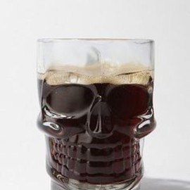 skull glass - kinda awesome