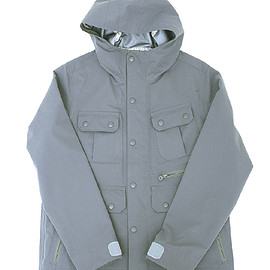 White Mountaineering - mountain parka saitos Detail / GRAY (017)