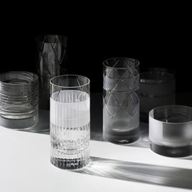 Scholten & Baijings - glassware for J Hill's Standard