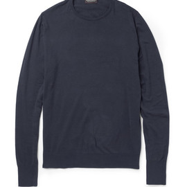 John Smedley - Lyndhurst Sea Island Cotton Sweater