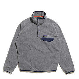Patagonia - Men's Lightweight Synchilla Snap T Pullover-NKNV