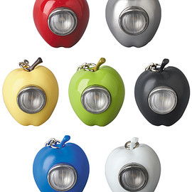 MEDICOM TOY - GILAPPLE LIGHT KEYCHAIN