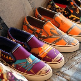 """CARRE"" Custom Vans for Robert Verdi"