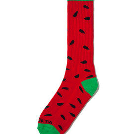 Odd Future - Red/Green Watermelon Sock