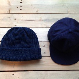 COMES AND GOES - KNIT CAP & INDIGO CAP