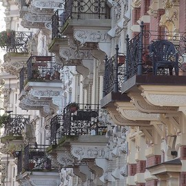 paris - balconies