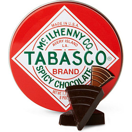 TABASCO - Tabasco spicy dark chocolate wedges 50g
