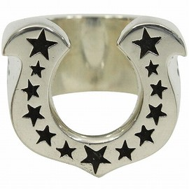 TENDERLOIN - Horse Shoe Ring (Silver)
