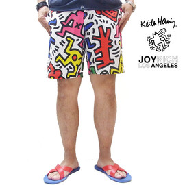 JOYRICH - JOYRICH × KEITH HARING MEN AND DOGS SURF (WH MULTI)