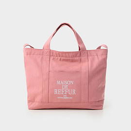 MAISON DE REEFUR - REEFUR Logo 2Way Canvas Tote Bag M
