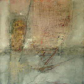 Jeane Myers - She Could Only Sigh, 2011, mixed media on board