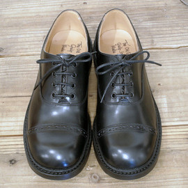The Old Curiosity Shop Quilp by Tricker's - OXFORD LOW BOX CALF with DINITE SOLE