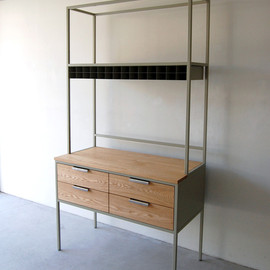 NAUT - 040 | 01_Custom made NAUT Frame work cabinet