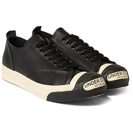 Undercover - Logo Leather and Rubber Sneakers