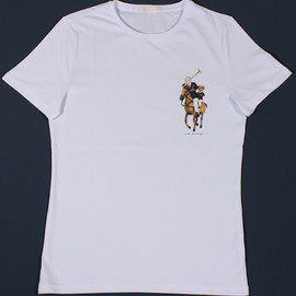 RALPH LAUREN - Tee Shirts Re-Envision Iconic Designers As Their Logos