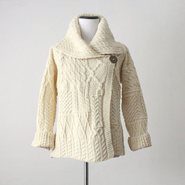 vintage - vintage fisherman cable knit sweater