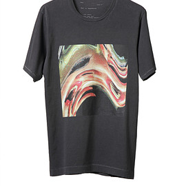 NADA. - Bent woman Tee / Charcoal