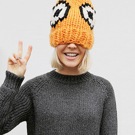 WOOL AND THE GANG - EEK HAT / knit cap