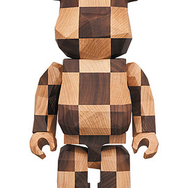 MEDICOM TOY - BE@RBRICK カリモク fragmentdesign 400% polygon - CHESS