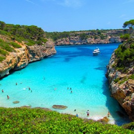 Spain - Calo des Moro Beach