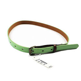 Madewell - Brand New With Tags Madewell Patent Leather Green Belt WOMENS Size XS-S