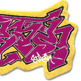 STASH - Graffiti rug