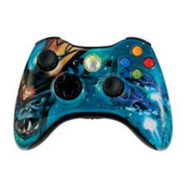 Microsoft - Xbox360 Limited Edition Halo3 Controller(Covenant)