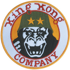 "MASH CO. - TAXI DRIVER  ""King Kong Company""Patch"