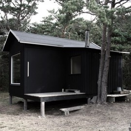 Septembre architects - cabin in the woods, Trosso, Sweden
