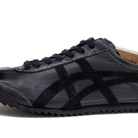 ONITSUKA TIGER - MEXICO 66 DELUXE 「made in JAPAN」 「NIPPON MADE BLACK COLLECTION」