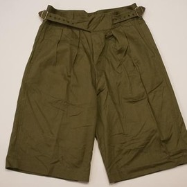 British Forces - Green Drill Shorts