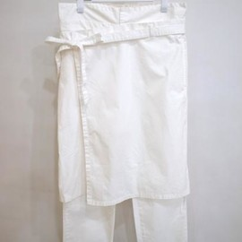 whowhat - APRON PANTS(WHITE)