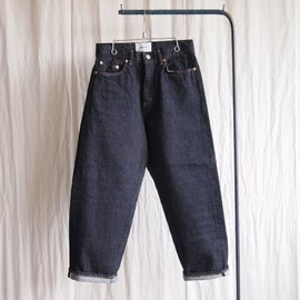 YAECA - Denim - wide straight / 14oz one wash #indigo