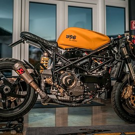 """NCT Motorcycles - Ducati 996 #4  """"desmofighter 2.0"""""""