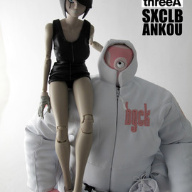 threeA Toys - ANKOU EX SXCLB BOUNCER LITTLE SHADOW MK2