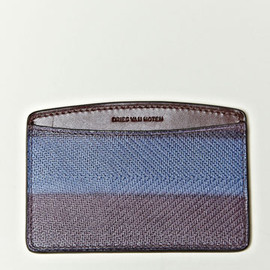 DRIES VAN NOTEN - Hand Painted Leather Cardholder