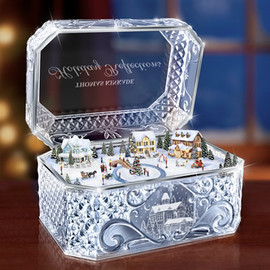 Thomas Kinkade - Crystal Music Box