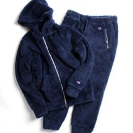 FREAK'S STORE ×Champion別注 - FREAK'S STORE ×Champion別注SHERPA FLEECE セットアップ