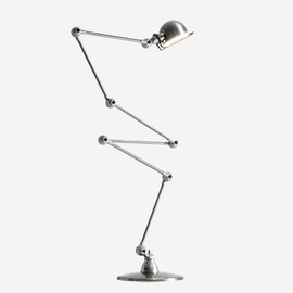 JIELDE - FLOOR LAMP Brush Steel