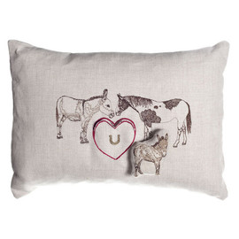 CORAL&TUSK - donkey and horse make mule pocket pillow