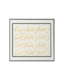 kate spade NEW YORK - desk accessories bow paper clips set of 12