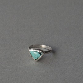 pearl ring silver