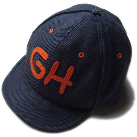 GO HEMP - Go Hemp『LITTLE LEAGUE CAP』NAVY