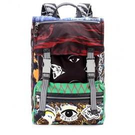 KENZO - Printed fabric backpack