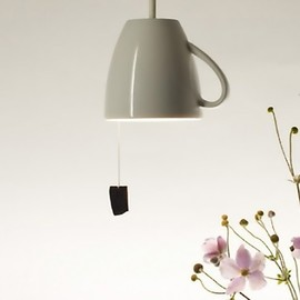 Pendant Tea Mug Lamp