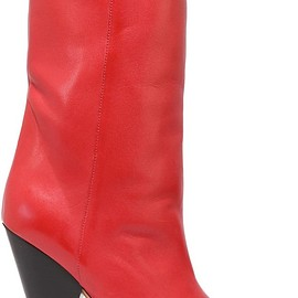 Isabel Marant - Lexing leather knee boots