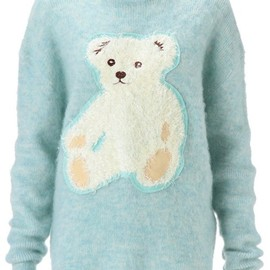 G.V.G.V. - *DREAM BEAR APPLIQUE SWEATER