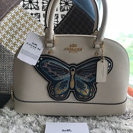 COACH - Butterfly embroidered Bag