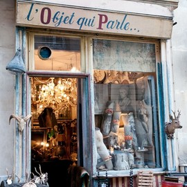 Paris - Antique shop
